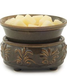 Ceramic Candle Warmer & Dish