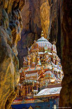Hindu Temple Steeple by Ian Purugganan on 500px | Batu Caves of Kuala Lumpur, Malasyia