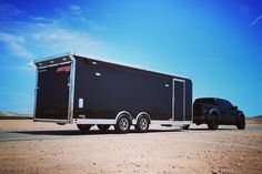 Ready for the weekend! Best Trailers, Custom Trailers, Cargo Trailers, Aluminum Trailer, Rv Accessories, Dream Life, Future House, House Plans, Construction