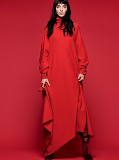 Mariacarla Boscono in Harper's Bazaar UK October 2016 by Nico Bustos