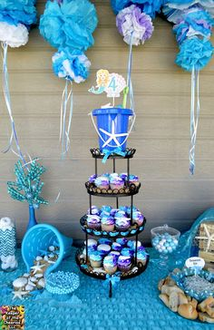 Under the Sea Mermaid Princess Birthday Party