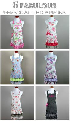 apron design ideas I have made two aprons using this fabric, I love ...