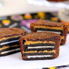 Chaos in the Condo: Peanut Butter Oreo Brownies