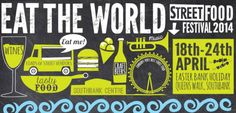 A fab world street food festival will settle on Southbank for the week-end. With... a wine bar, a cocktail bar and a craft beer bar!  More info: http://www.realfoodfestival.co.uk/festivals/world-street-food-festival-2014/