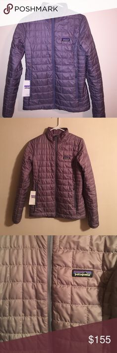 Patagonia Nano Puff Worn once, excellent condition. Color is Rustic Purple... Tag is included! Patagonia Jackets & Coats