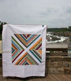Updated my Bailey's Crossing Quilt Free Pattern from the 2012 100 Quilts Quilt Along