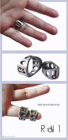 Pearl Silicone Ring