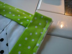 French binding tutorial that is actually easy to follow...
