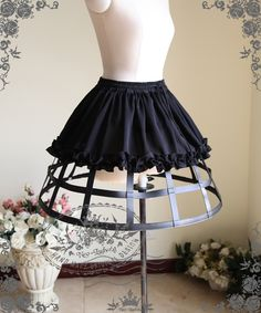 fanplusfriend - Gothic Steampunk Knee Length Full Birdcage Steel Petticoat*2colors Instant Shipping, $56.50 (http://www.fanplusfriend.com/gothic-steampunk-knee-length-full-birdcage-steel-petticoat-2colors-instant-shipping/)
