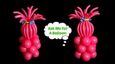 Trolls Party Balloon Decoration