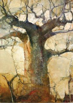"""Mixed Media Artists International: Abstract Mixed Media Landscape Art Painting """"Color Study by Colorado Mixed Media Abstract Artist Carol Nelson Abstract Tree Painting, Watercolor Trees, Watercolor Landscape, Landscape Art, Landscape Paintings, Watercolor Paintings, Abstract Art, Landscapes, Tree Paintings"""
