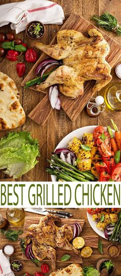This is the best grilled chicken recipe we have ever tried. We're talking about mouth-watering delicious chicken that is perfect for summer cookouts. Try this easy grilled chicken recipe.