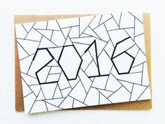 Christmas card Happy new year card Card Card by SweetAndMellow
