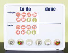 Silhouette America Blog | Organization Week :: Chore Chart
