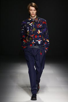 Salvatore Ferragamo   Menswear - Spring 2017   Look 17