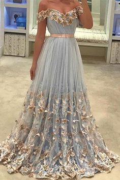 Light Blue Tulle Off The Shoulder Evening Gowns A Line Lace Appliques Prom Dress Prom Dresses Blue, Prom Dresses, Evening Dress With Appliques, Prom Dresses Lace, Long Prom Dresses Prom Dresses Long Floral Prom Dresses, Dresses Short, Unique Prom Dresses, Backless Prom Dresses, Tulle Prom Dress, Mermaid Prom Dresses, Formal Dresses, Party Dresses, Dresses Dresses