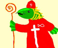 Fish Pope drawing by tydlitadytydlitam - Drawception Funny Drawings, Easy Drawings, Drawing Games, Fish, Cats, Pictures, Animals, Fictional Characters, Photos