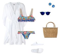"""""""#1875"""" by apvick ❤ liked on Polyvore featuring Le Lis Blanc, Anjuna, Melissa, Serpui and Kate Spade"""