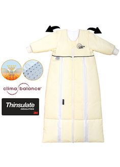 Schlafsack mit Ärmel, Thinsulate prima klima, natur