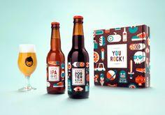 Packaging de bières par Patswerk - Journal du Design