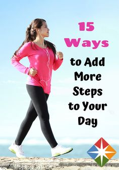 15 Ways to Sneak More Steps Into Your Day weight loss weight loss tips weight loss exercise weight loss medicine weight loss diet weight loss foods weight loss calculator 1 month weight loss plane Get Up And Walk, Walk This Way, Weight Loss Calculator, Weight Loss Plans, Get Healthy, Healthy Facts, Healthy Exercise, 10000 Steps, Steps Per Day