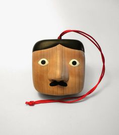 """""""Pedro"""" Box carved by illustrator and woodworker Paolo Del Toro"""