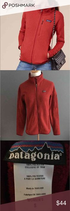 Patagonia better sweater This is a wonderfully comfortable and cozy jacket! It is in great condition except for a small repair near the zipper as noted in pic 4 but hardly noticeable. Priced a bit lower due to minor flaw. Patagonia Jackets & Coats