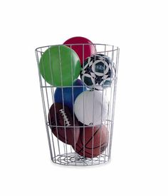 This will work for laundry!    The Container Store > Toy Barrel
