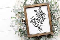 Meadow Flowers, Wild Flowers, Handmade Baby, Botanical Art, Machine Embroidery, Embroidery Hoops, Art Images, Cutting Files, Design Bundles