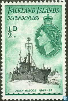 Postage Stamps - Falkland Islands - MSS John Biscoe