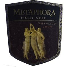 """Wine: """"The premier 2009 release of Metaphora's Pinot Noir could not have picked a better year. It was the talk all over the Napa Valley. San Pablo Bay, Bing Cherries, Pinot Noir, Wine Making, Napa Valley, Pomegranate, Herb, Wines, Mushroom"""