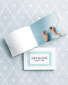 Photo Flip-Book Save-the-Date - DIY Save-The-Dates