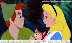 Alice and peter