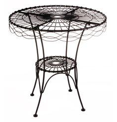 Margot Wire Table - Matt Blatt
