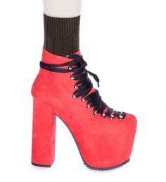 UNIF The Hellbound Platform Shoes.