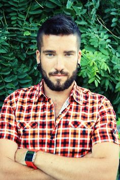 Great hair, beard