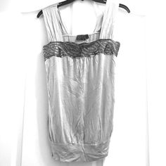 Dressy tank! Worn for 1 hour under a suit jacket. BRAND new condition! jcpenney Tops Tank Tops