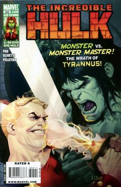 Incredible Hulk Vol. 4 # 605 by Ariel Olivetti