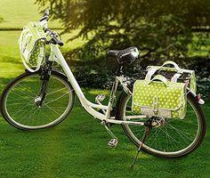 Idée couture - Set de sacoches pour le vélo - buttinette - loisirs créatifs - patron gratuit