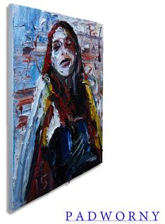 Oil Painting 20 by 16 by 3/4 in. / Original oil painting vintage impressionist art realism impasto thick contemporary NYC pop gallery