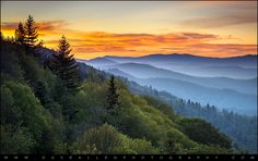 Great Smoky Mountains National Park - Morning Haze at Oconaluftee | by Dave Allen Photography