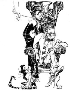 Truman Capote and Holly Golightly - Eric Canete