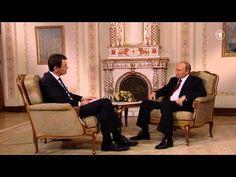 Wladimir W. Putin im Gespräch mit WDR Chefredakteur Jörg Schönenborn (WDR ARD…