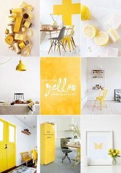 A TOUCH OF YELLOW | 79 Ideas