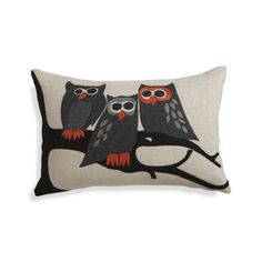 "Owl 20""x13"" Pillow  