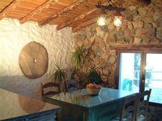 Spisestue med udsigt - skønt lille landhus i bjergene ved nationalparken Grazalema.