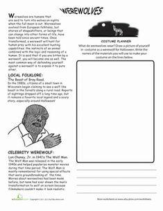 All About Frankenstein  Comprehension Worksheets Frankenstein And