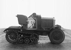 United Kingdom - Morris-Martel-Roadless Half-Track Experimental Tractor