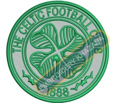 Celtic Football Club Logo Embroidery Design