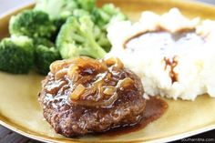 These Hamburger Steaks are a classic dish that just tastes like home!